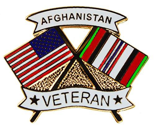 - Afghanistan Veteran Afghan War Vet Hat or Lapel Pin