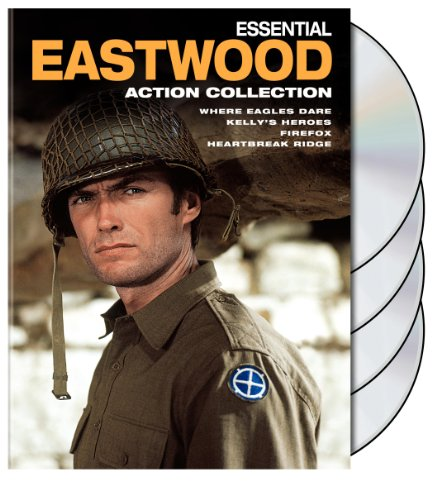 photo Wallpaper of Warner Manufacturing-Essential Eastwood: Action Collection (Firefox / Heartbreak Ridge / Kelly's Heroes / Where Eagles-