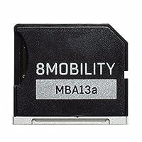 "8MOBILITY iSlice Micro SD Speicheradapter für MacBook Air 13 ""A1369 und A1466 (Silber)"
