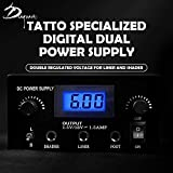Dragon Art Dual Digital Tattoo Power Supply with
