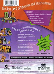 You Are Mine (Based on the Best Seller by Max Lucado) DVD Read & Sing Along Stories, Songs, Vocabulary, Learn in 2 languages (English, Spanish) from Creative Trust / Impact Productions