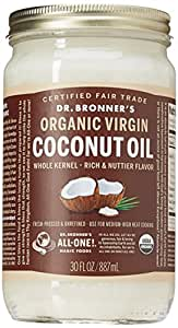 Dr. Bronner's Magic Soaps Whole Kernel Coconut Oil, 30 Ounce
