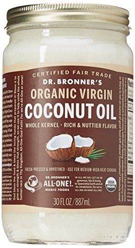 (Dr. Bronner's, Virgin Coconut Oil, 30 oz)