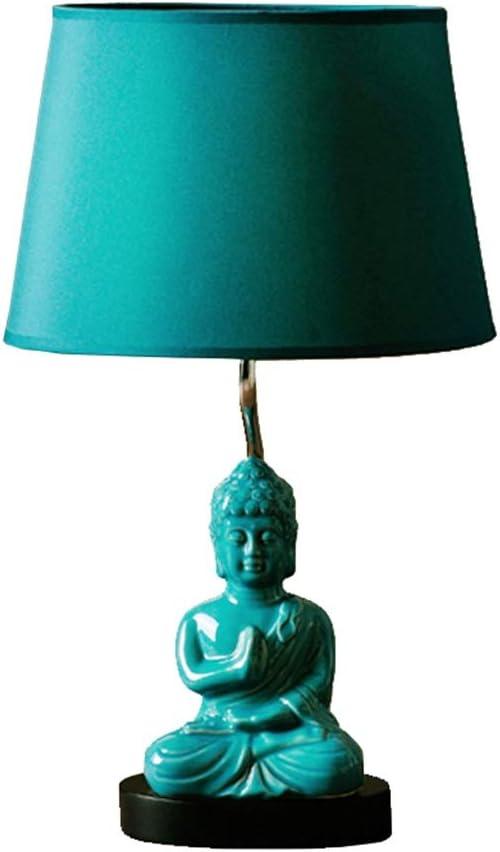Yike-Lamp Estatua de Buda Luz cálida IKEA Lámpara de Mesa ...