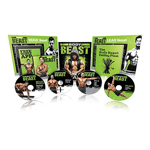 Body Beast DVD Workout - Base Kit (Best Exercise For Lean Body)