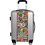 "Ugo Bags Travel Stickers By Gary Grayson 31"" Luggage"