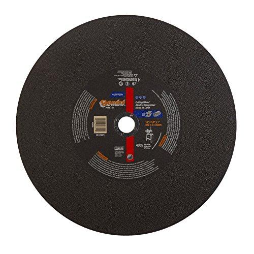 Norton 06609 14'' X 1/8'' X 1'' Gemini Fast Cut Cut-Off Wheel T1 (1 Wheel)