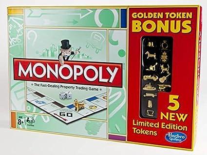 Monopoly Golden Token Bonus Edition by Monopoly: Amazon.es: Juguetes y juegos