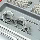 CGOLDENWALL 266 Pcs Optical Lens Optometry Rim Case
