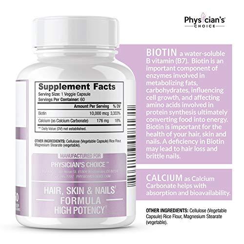 Buy brand for biotin supplement