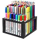 96 Hole Plastic Pencil & Brush Holder Multi Bin