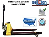 Selleton Pallet Jack Scale with Capacity of 5,000