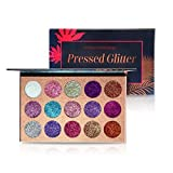 Beauty Glazed Makeup 15 Colors Pressed Pallete Makeup Glitters Eyeshadow Palette Shimmer Pigment Eye Shadow Pallet