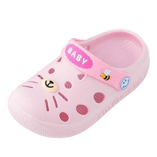 sports shoes d8db0 b385e UOMOGO Sandali Gatto da neonata, Divertente Pantofole da ...