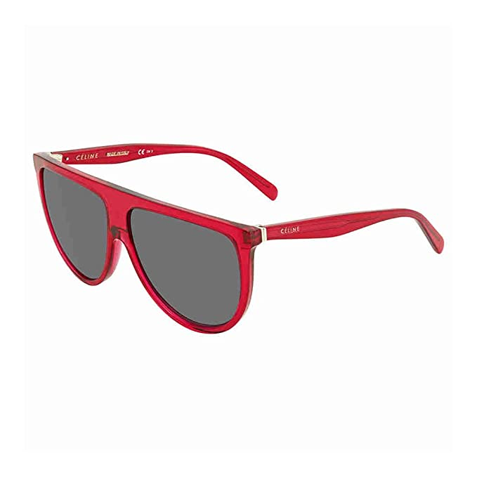 cc89ab4d07 Céline THIN SHADOW CL 41435 S TRANSPARENT FUCHSIA RED GREY women Sunglasses   Amazon.ca  Clothing   Accessories
