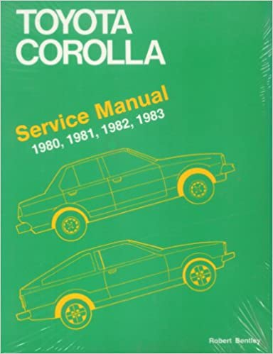 Toyota corolla service manual 1980 1983 robert bentley toyota corolla service manual 1980 1983 fandeluxe Gallery