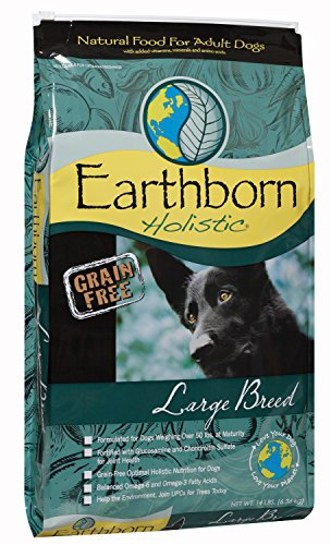 Earthborn Holistic Large Breed, 14 Pound Bag