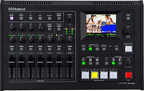 roland video mixer - 4
