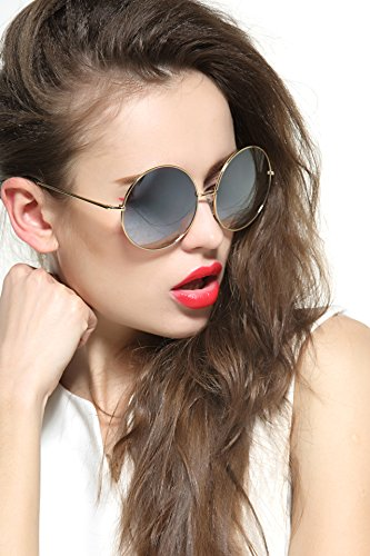 GEELOOK-Oversized-Round-Circle-Mirrored-Hippie-Hipster-Sunglasses-Metal-Frame