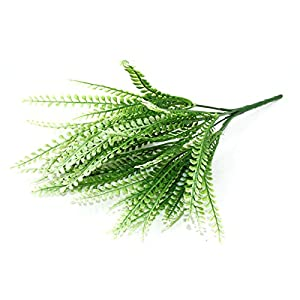 FYYDNZA New Green Plant Leaves Grass Decorative Flowers Artificial Flowers For Home Decoration Artificial Grass 1