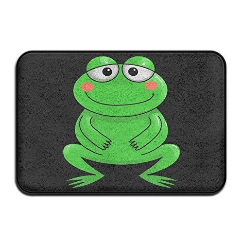LPYHB-U8 Cute Green Frog Doormats Entrance Rug Floor Mats Doormats Floor Mat 15.7