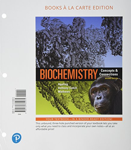 Biochemistry: Concepts and Connections, Books a la Carte Plus MasteringChemistry with Pearson eText - Access Card Package (2nd Edition)