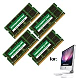 16GB DDR3-1333 PC3-10600 DDR3 1333Mhz SO-DIMM Kit for Apple iMac (4x 4GB)