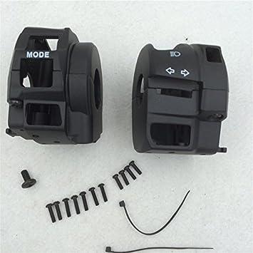 Black Switch Housing Cover Suzuki Gsxr600 Gsxr750 Gsxr1000 Hayabusa Gsxr1300