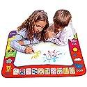 szjjx Aqua Doodleマット水Painting Drawing Writingボード布Children Playおもちゃ赤ちゃん子供プレゼントwith 1マット、2マジックペン