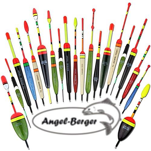Angel Berger Allround Posensortiment 20 teilig Friedfischposen Raubfischposen