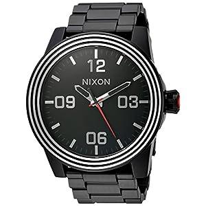 Nixon Men's 'Star Wars Kylo' Quartz Stainless Steel Casual Watch, Color:Black (Model: A346SW2444-00)