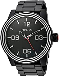 Nixon Mens Star Wars Kylo Quartz Stainless Steel Casual Watch, Color:Black (Model: A346SW2444-00)
