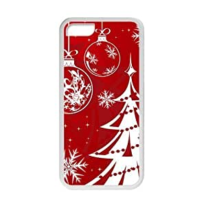 Merry Christmas TPU Case Protective Skin for iPhone 5C-NC3539