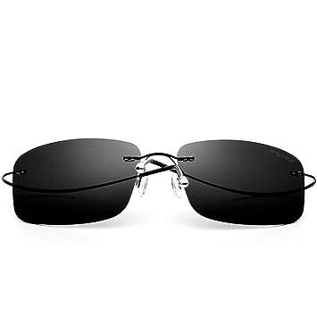 YYXXZZ Gafas de sol Gafas de Sol sin Montura polarizadas ...