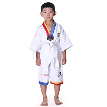 Uniforme de Taekwondo traje Karate para niños, Infantil ...