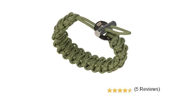 Chums Smokey Paracord Bracelet Black 34600