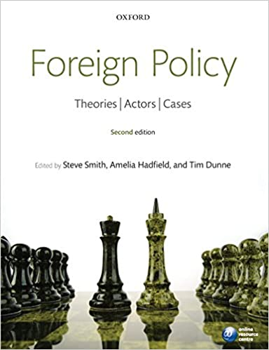 Amazon foreign policy theories actors cases 9780199596232 foreign policy theories actors cases 2nd edition fandeluxe Gallery