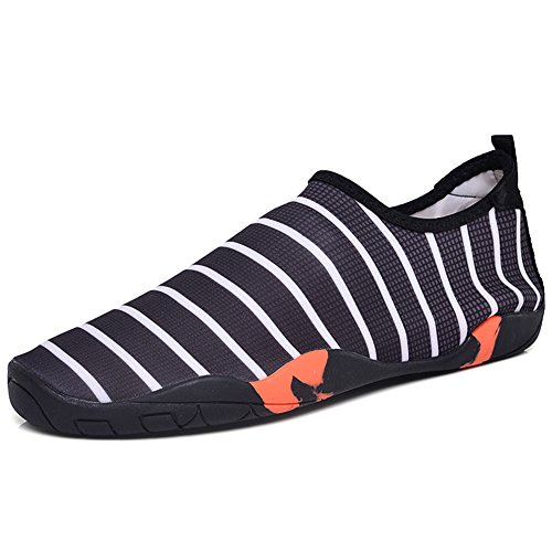 Barefoot Socks Black On Quick 47EU Yoga Swimming Shoes 2 for Beach Comfortable Drying Skin Water Slip Shoes Fashion Unisex 34 YUtSP6TUW