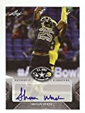 SHAUN WADE OHIO STATE BUCKEYES 2017 LEAF U.S. ARMY HIGH SCHOOL ALL-AMERICAN AUTOGRAPHED ROOKIE CARD!