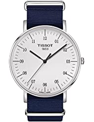 Tissot Unisex Everytime Large Nato - T1096101703700 Silver/Blue One Size