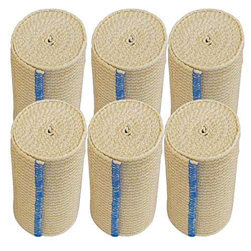 NexSkin Elastic Bandage Wrap with Hook and Loop Closure, 4