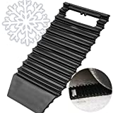 Ideas In Life Traction Mat & Ice Scraper Car – 2 In 1 Tool Tire Grips Traction Boards Ideal To Unstuck Your Car From Snow, Mud, Ice, Sand And As A Window Ice Scraper Emergency Tool, 1 Piece By