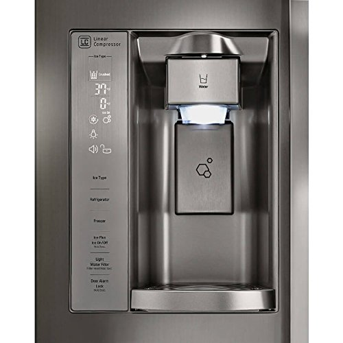 LG 26.0 Ft. Stainless Side-By-Side Energy Star