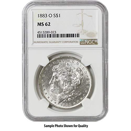 1883 O Morgan Silver Dollar $1 MS62 NGC