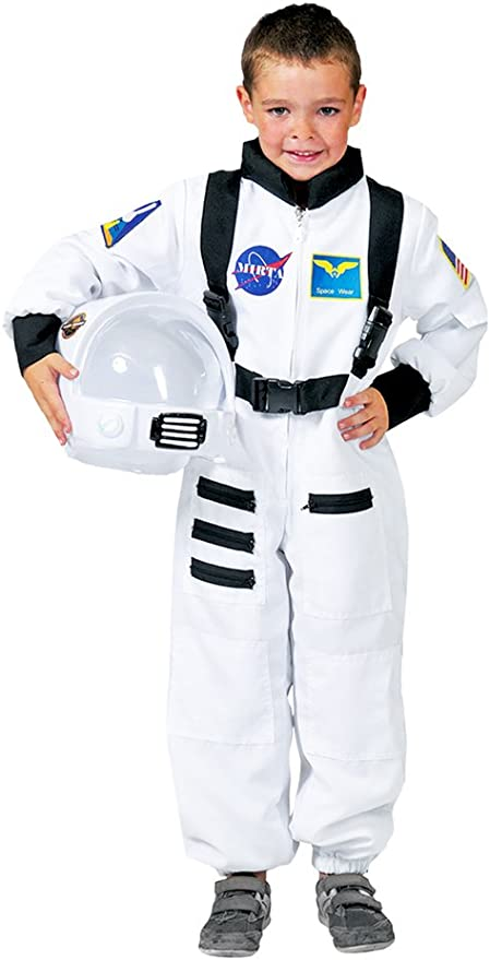Disfraz astronauta blanco niño - De 8 a 10 años: Amazon.es ...
