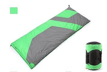 Al aire libre ultra ultra ligero saco de dormir -30 grados otoño y invierno romper camping adulto doble saco de dormir , green: Amazon.es: Deportes y aire ...
