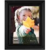 malden international designs regal black picture frame 10x13 black