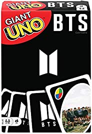 Giant UNO BTS Card Game with 108 Cards Based on BTS Global Superstars, Gift for Boys and Girls Age 7 Years &am
