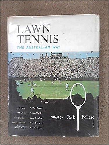 Ebook Francais Téléchargement Gratuit Lawn Tennis The Australian