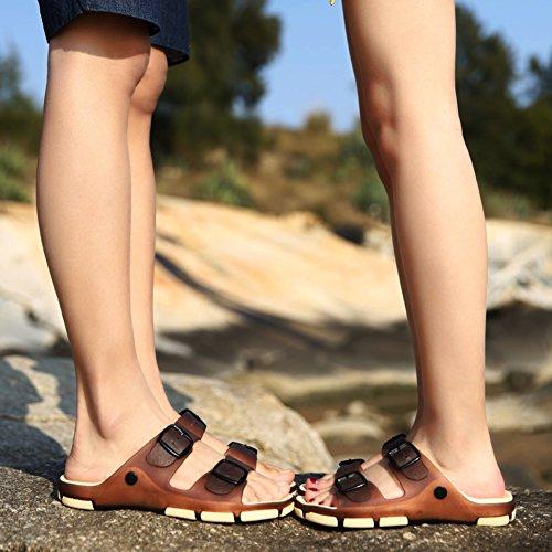 Sommer Strand Rutschen Hausschuhe/Wilde Paare und Freizeitschuhe-A Fußlänge=22.8CM(9Inch)